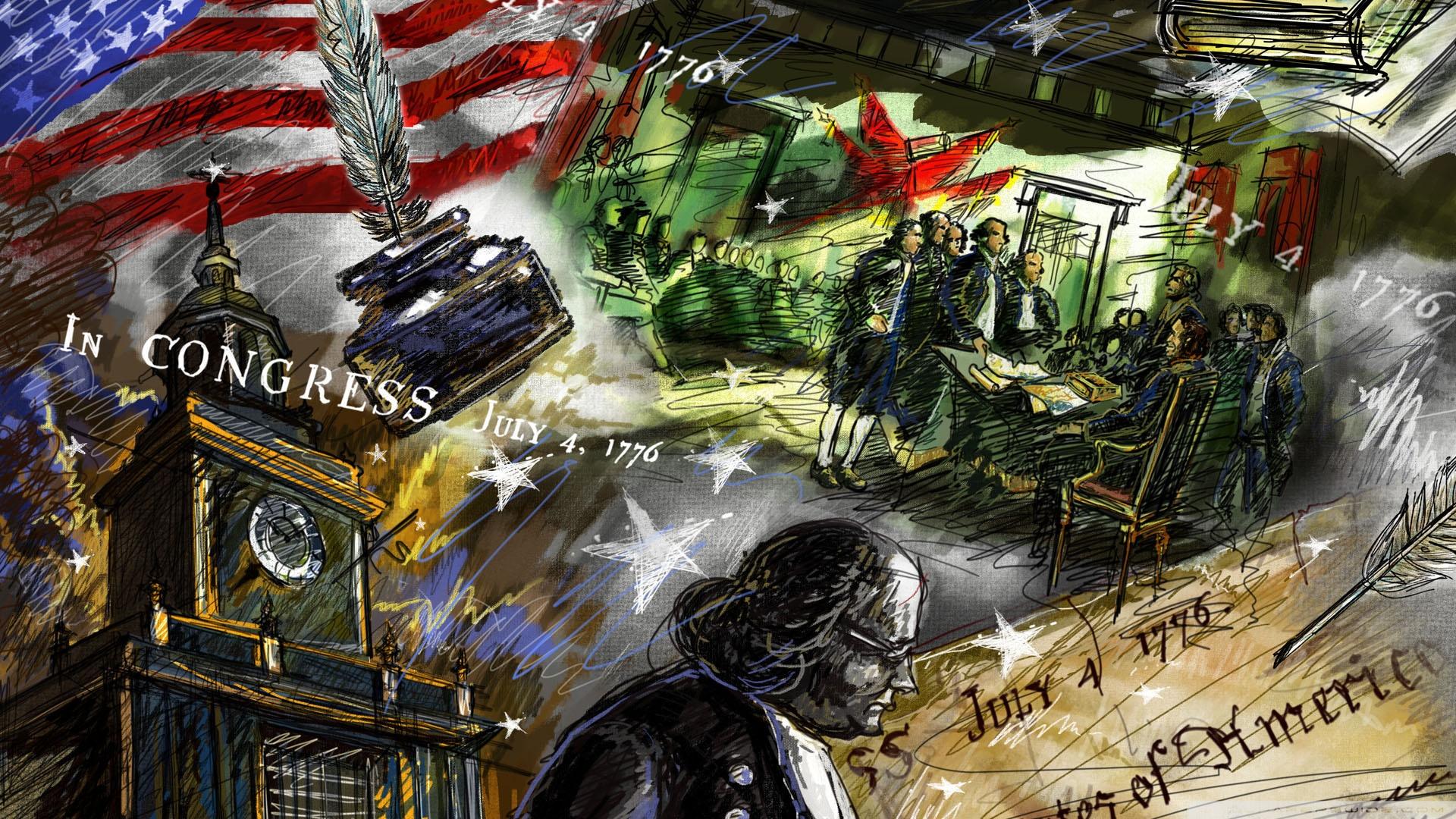 United States Independence Day 4 4K HD Desktop Wallpaper for 4K 1920x1080