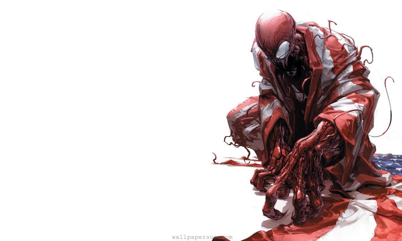 Fuentes de Informacin   Wallpaper HD Spiderman Venom Carnage 1280x768
