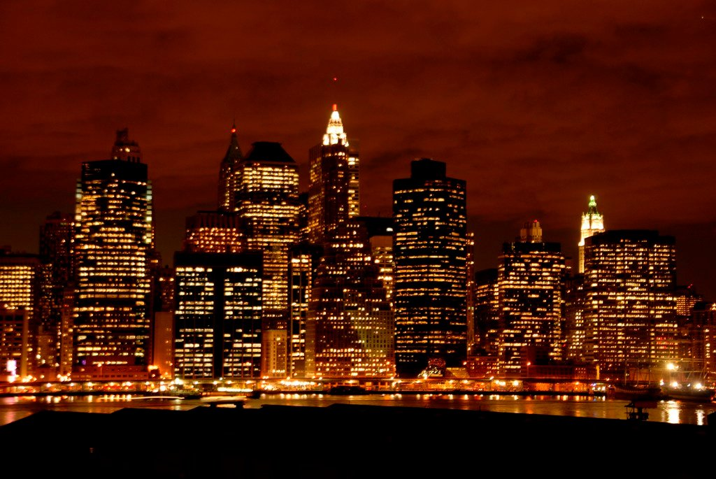All World Visits New York Skyline At Night 1024x685