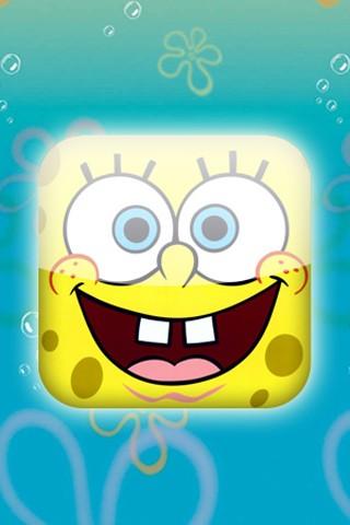 Sfondo Spongebob   320 x 480   Iphone 3   immagine foto 320x480