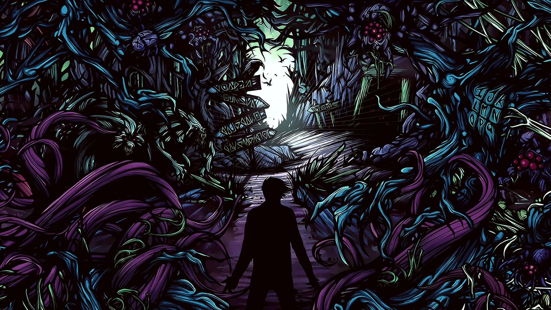 What bands have the coolest album covers for wallpapers 1920x1080