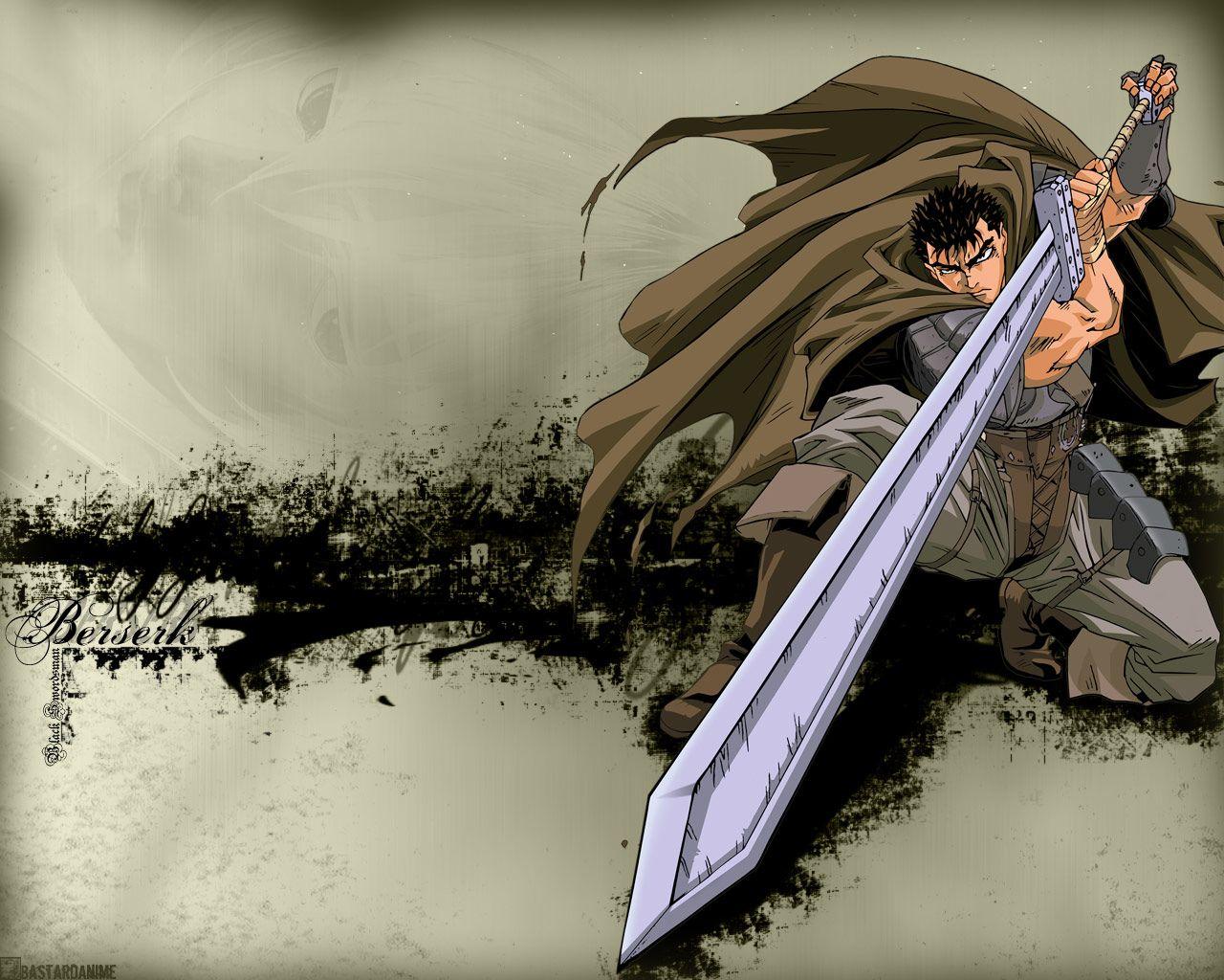 Anime Berserk Gaz Guts Berserk Wallpaper Images for Drawings 1280x1024