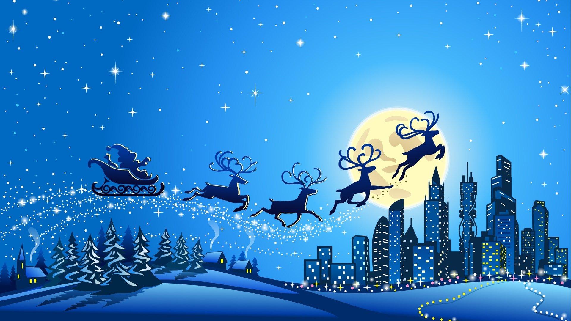 download New Year Merry Christmas 4K Ultra HD wallpaper 4k 1920x1080