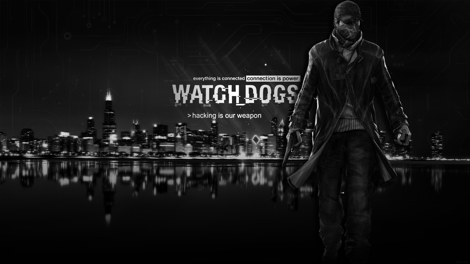 Watch Dogs Wallpaper HD by solidcell 1920x1080