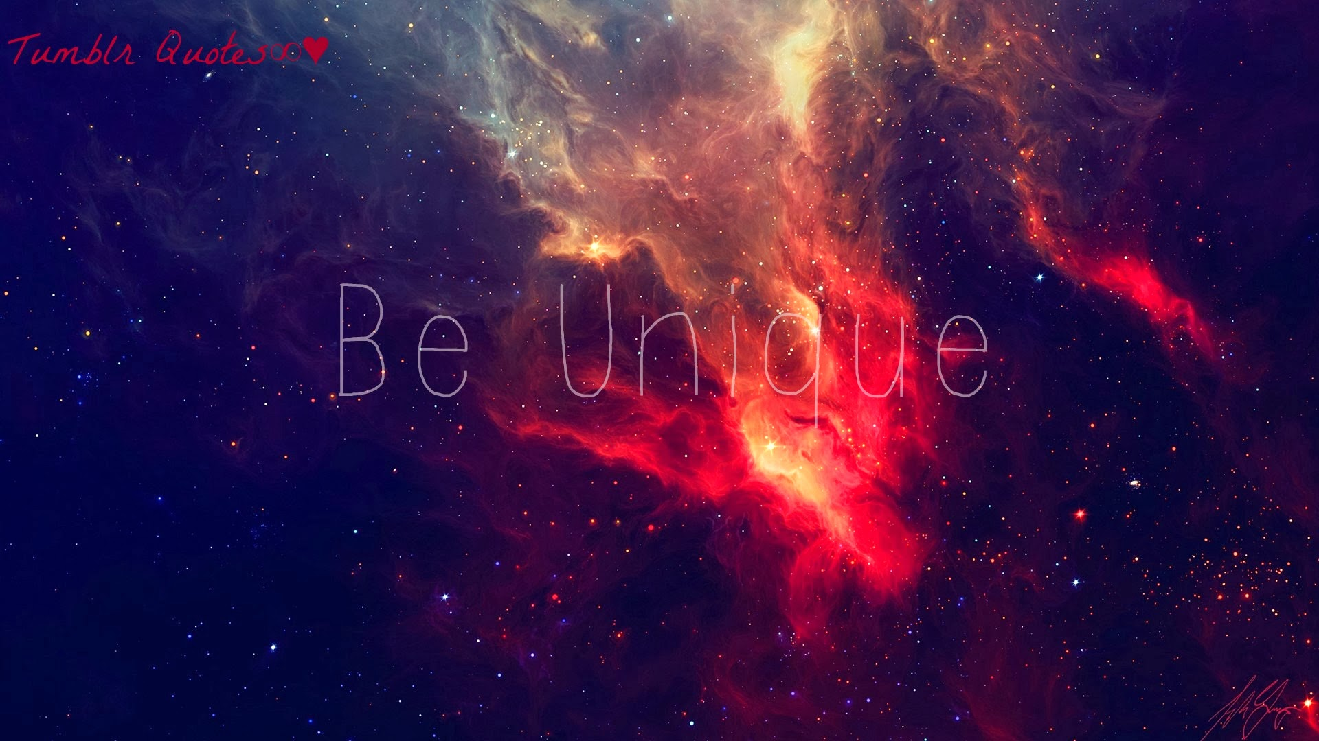 Galaxy Wallpaper Tumblr Quotes Tumblr quotes   community 1920x1080