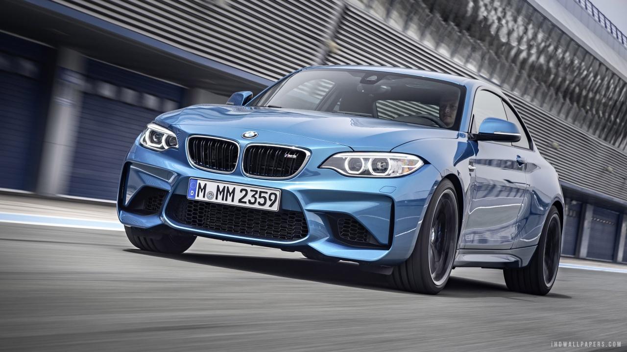 BMW M2 2016 HD Wallpaper   iHD Wallpapers 1280x720