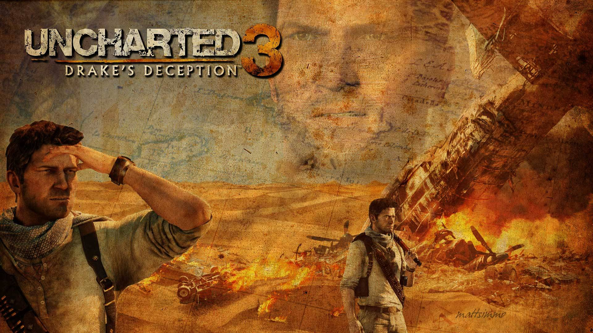 Drake in Uncharted wallpapers Wallpapers Wallpapers and