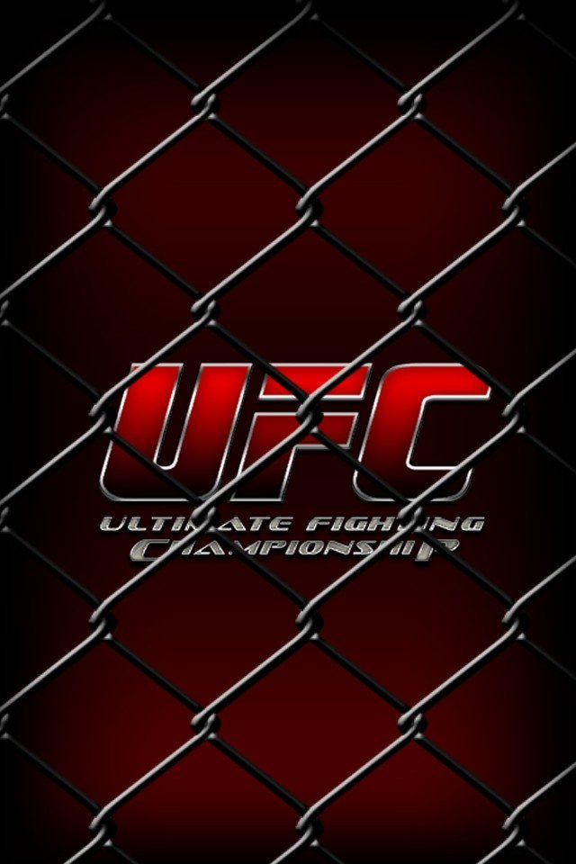 Ufc Logo Wallpaper Hd Ufc hd iphone theme 640x960