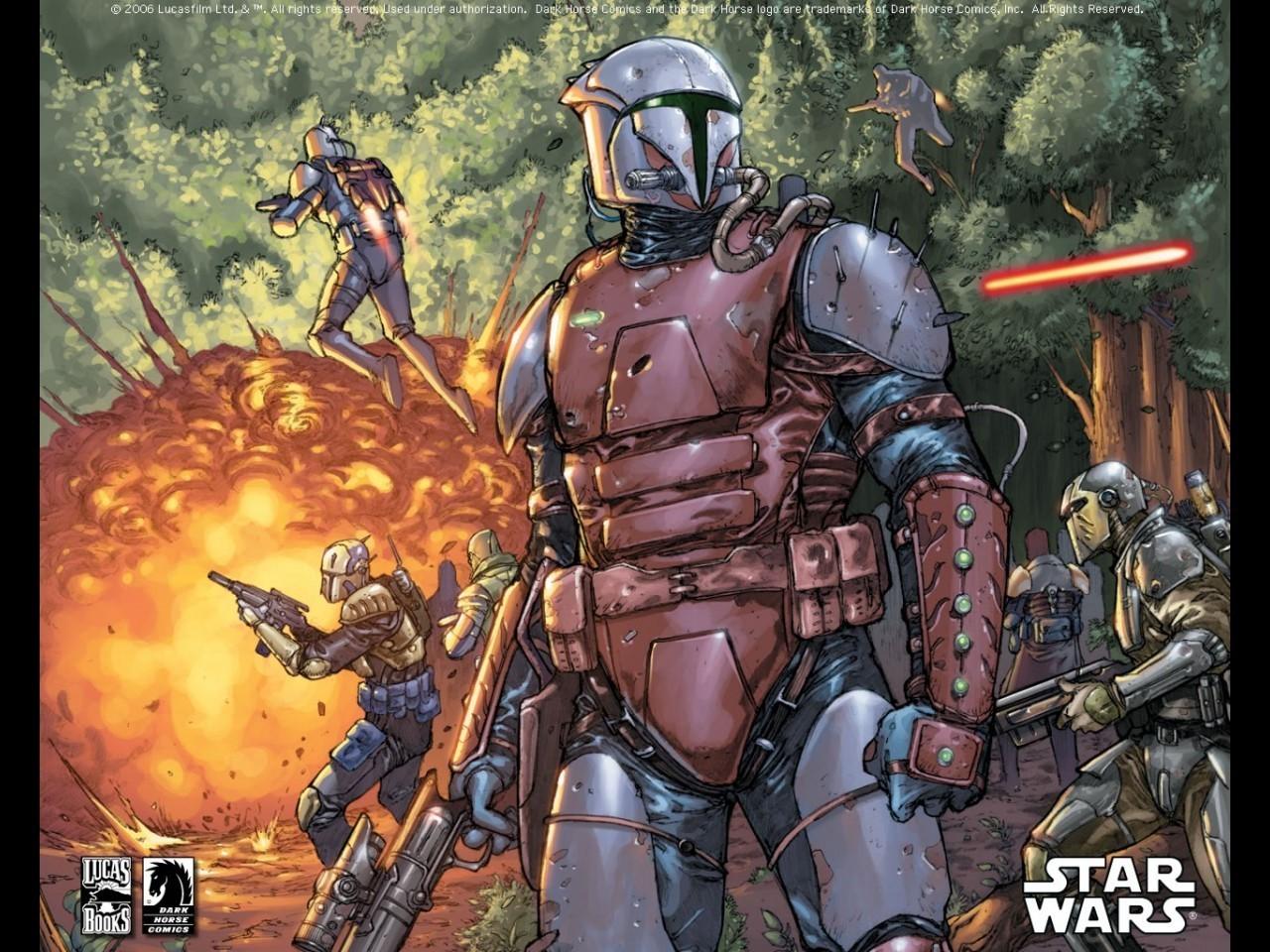 45 Star Wars Bounty Hunters Wallpaper On Wallpapersafari