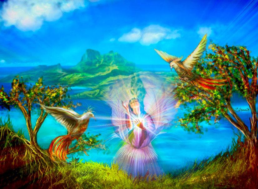 Картинка надписью, открытки райской жизни
