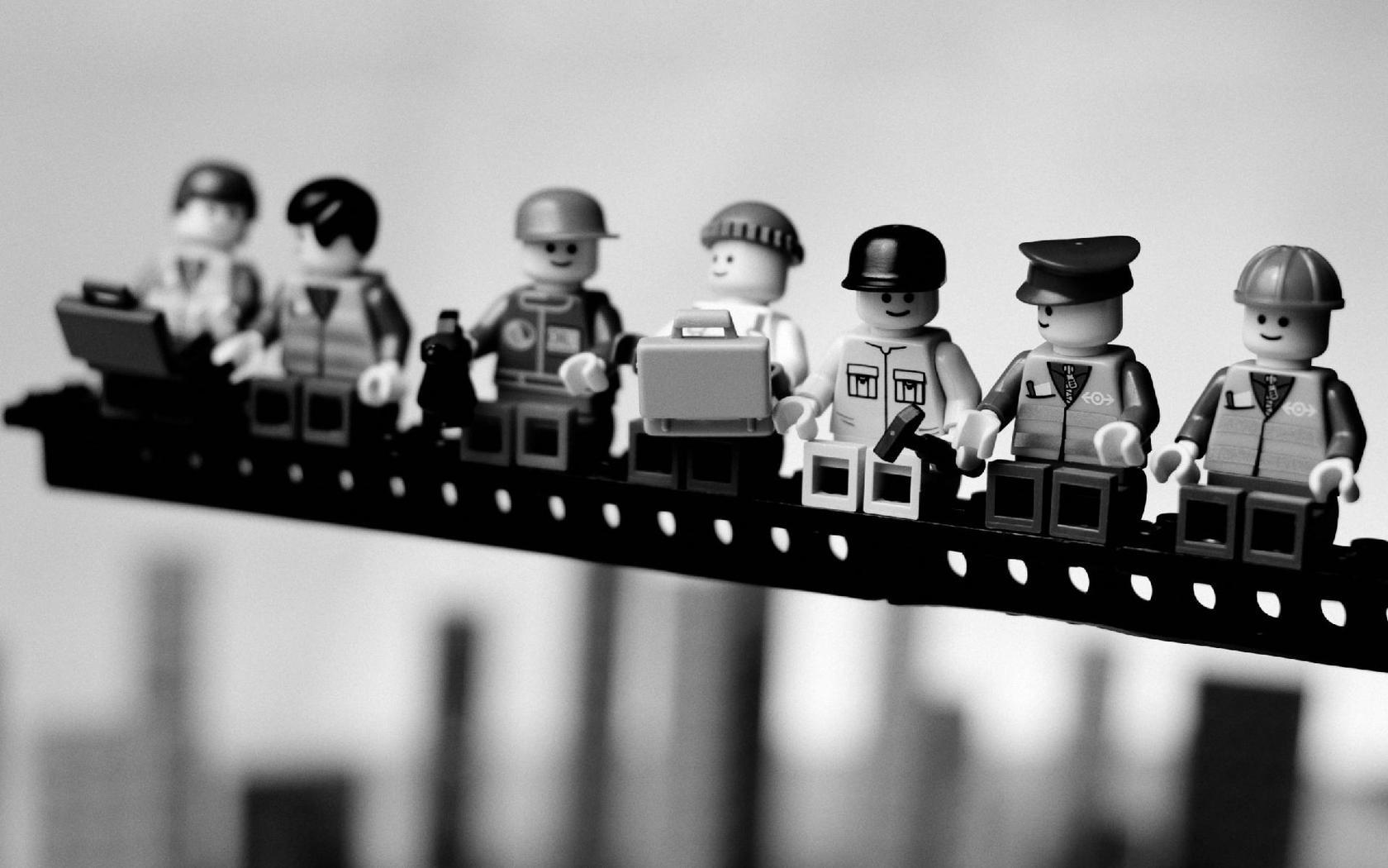 Lego Workers 1680x1050 wallpaper 1680x1050