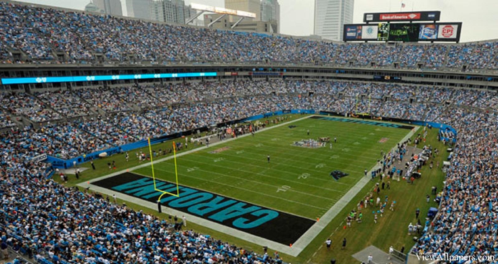 Carolina Panthers Stadium HD Resolution download Carolina 1600x849