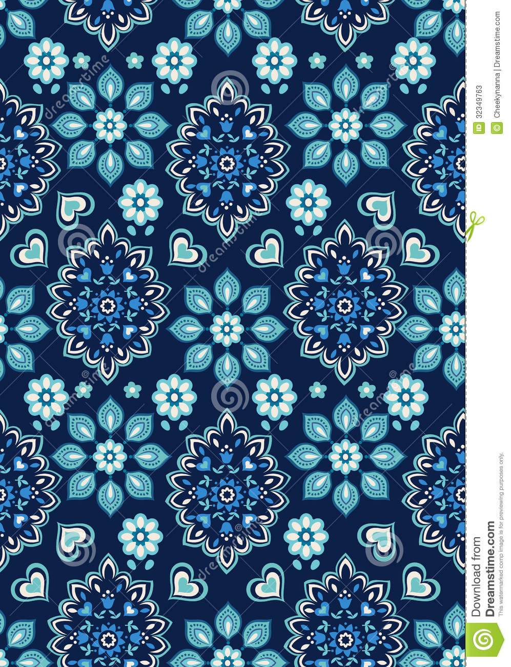 Free Download Pretty Blue Flower Backgrounds Flower Print