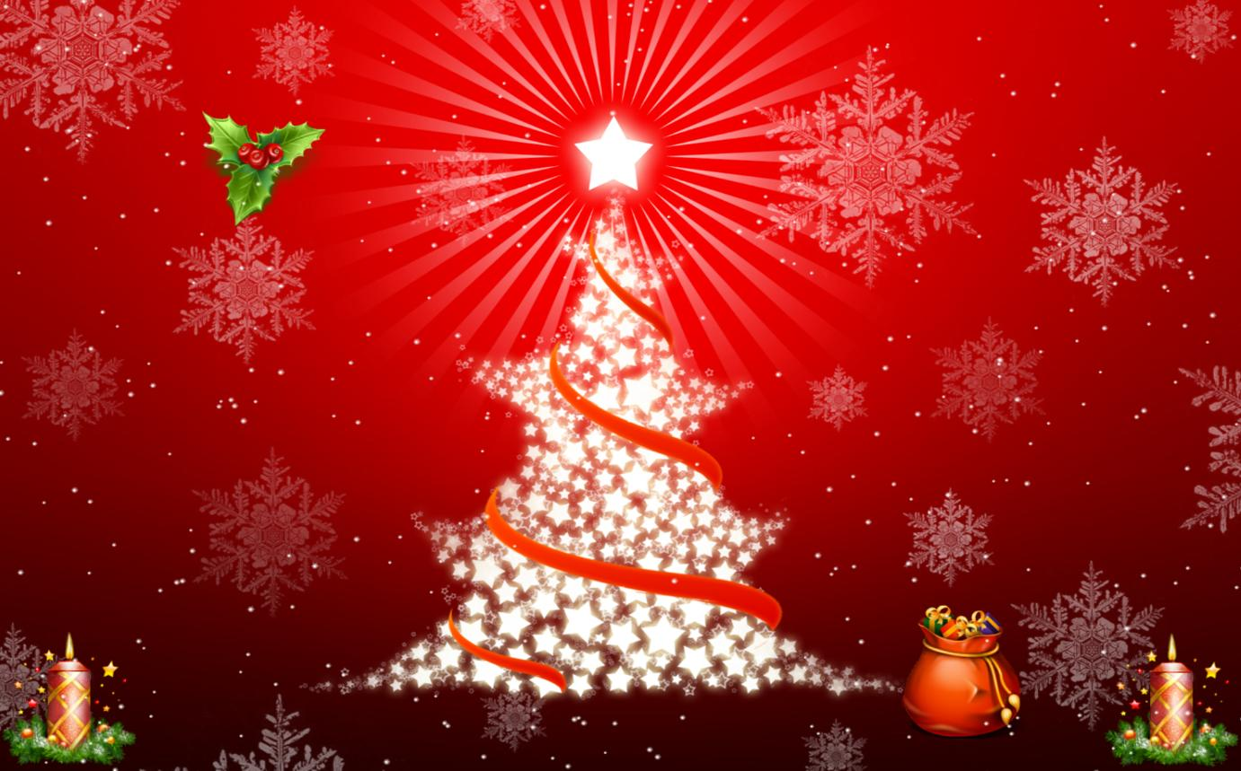 christmas tree christmas song christmas day animated wallpaper desktop 1381x859
