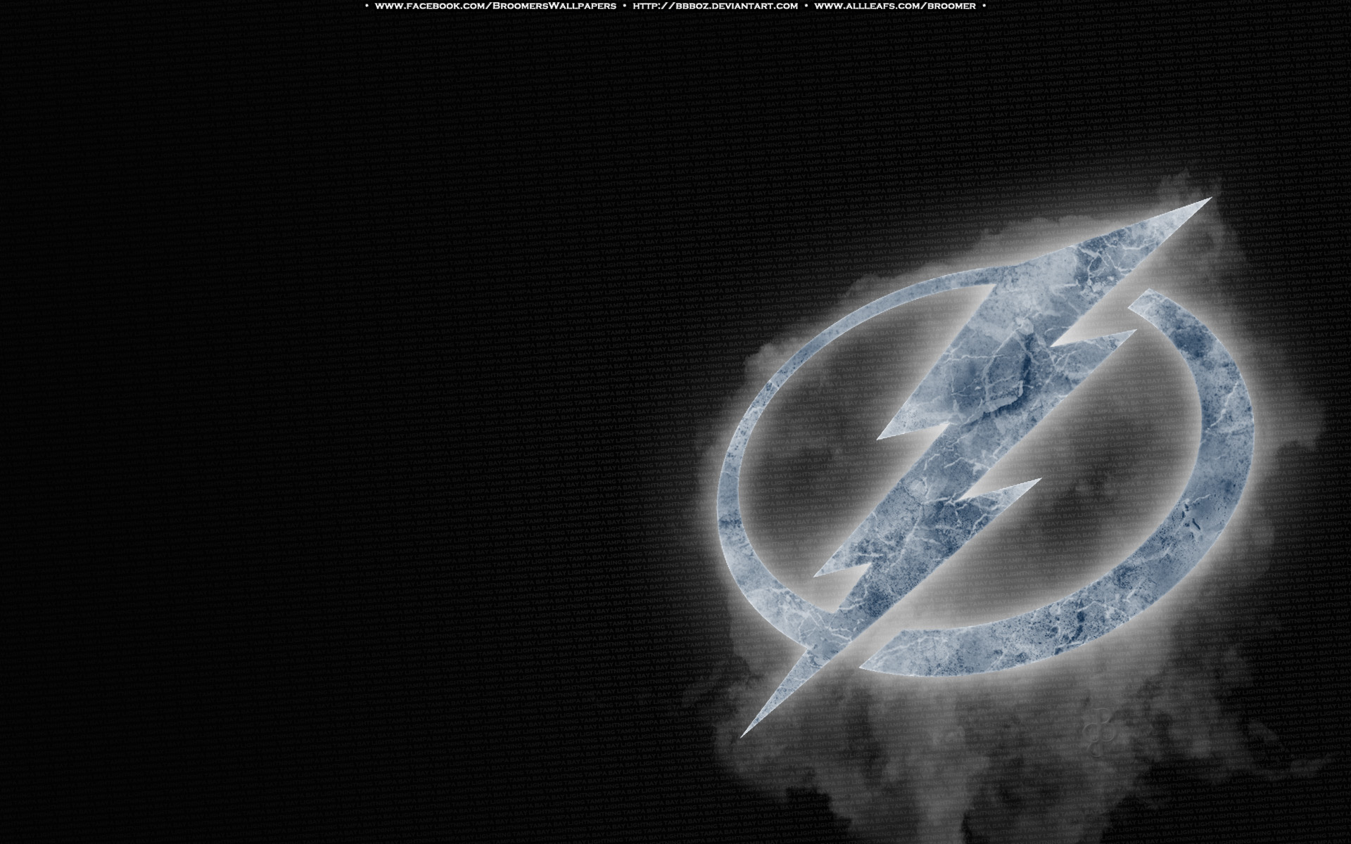 Tampa Bay Lightning Ice by bbboz 1920x1200