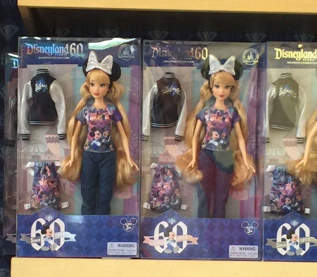 Disneyland 60th Diamond Celebration Disney 12 Barbie Style Doll 1055x923