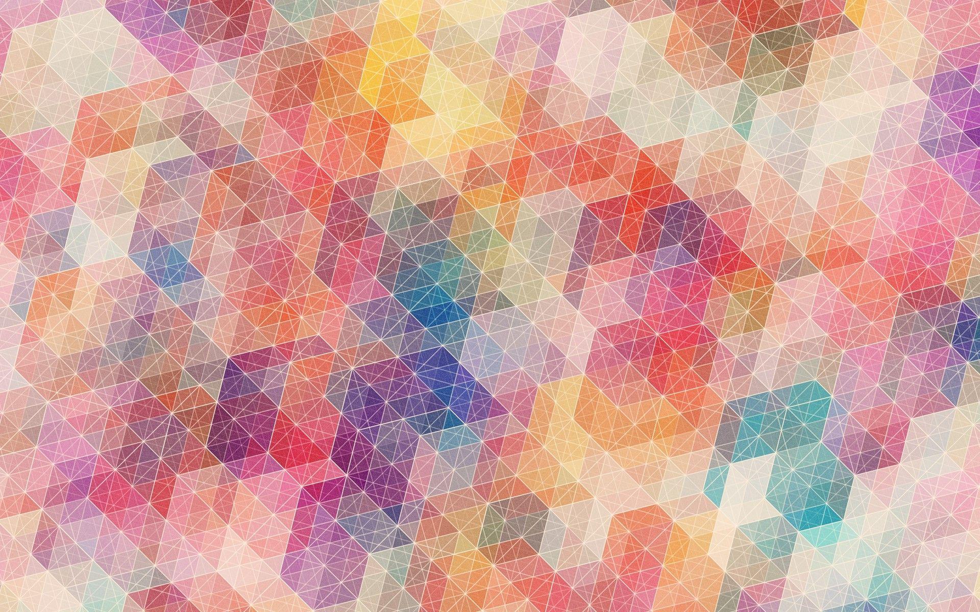download Geometric Pattern Desktop Wallpaper Colorful 1920x1200