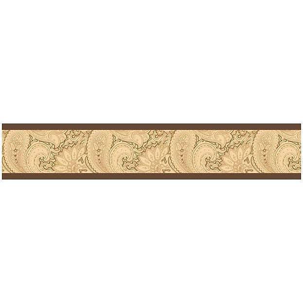 Camel Paisley Wallpaper Border by Sweet Jojo Designs 623x623
