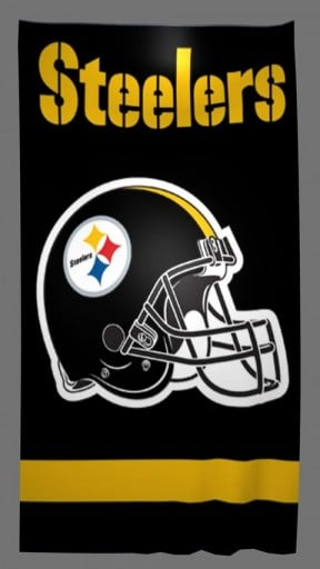 Captura de pantalla de Steelers HD Live Wallpaper para Android 288x512