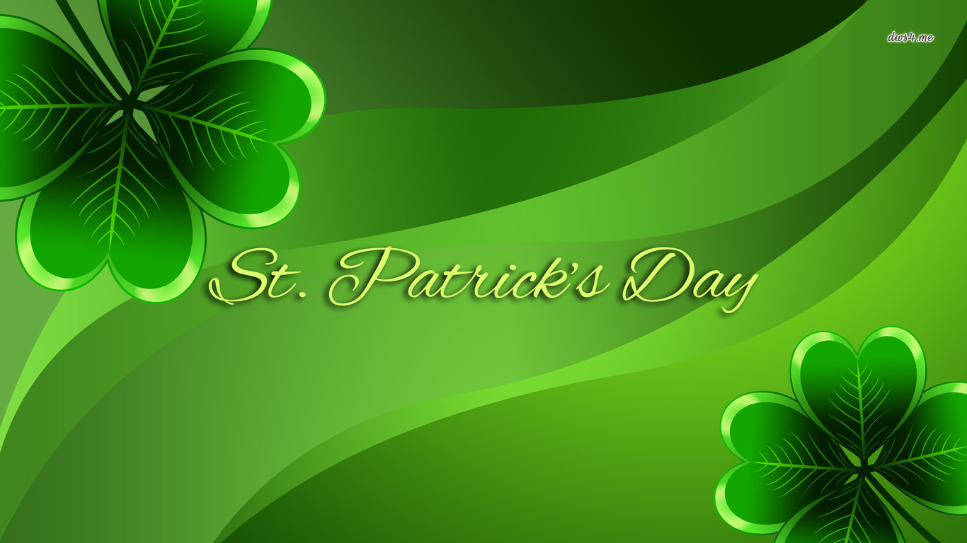 Saint Patricks Day Wallpaper   Desktop Background Pictures For St 1366x768