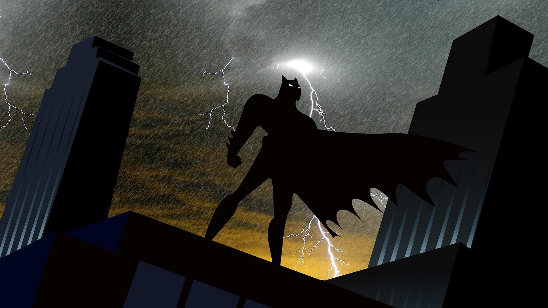 75 Batman Cartoon Wallpaper On Wallpapersafari