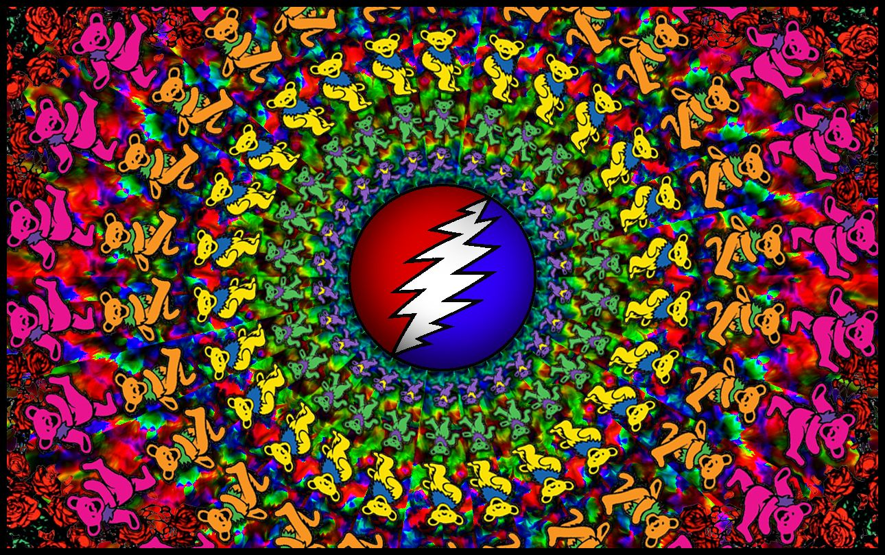 High resolution background i made in photoshop today gratefuldead 1290x810