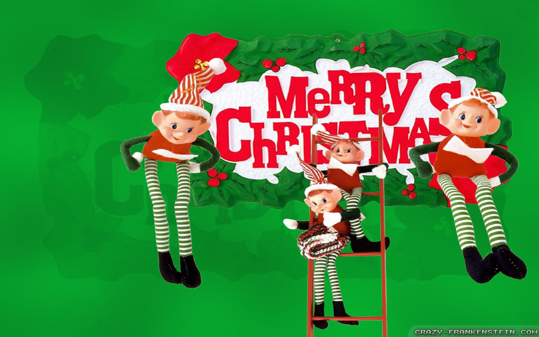 Christmas Elf wallpapers   Crazy Frankenstein 1440x900