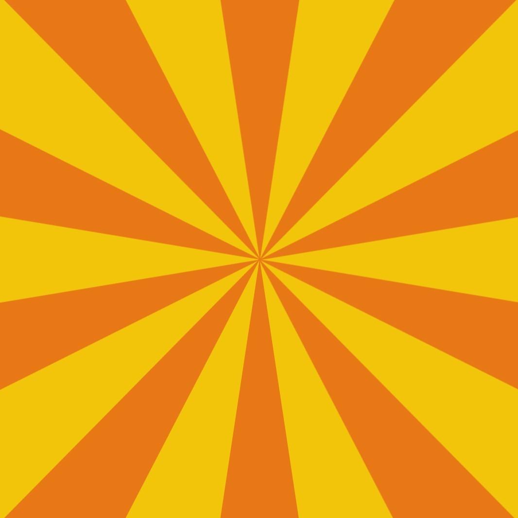 Create meme stripes sunburst orange background   Pictures 1066x1066