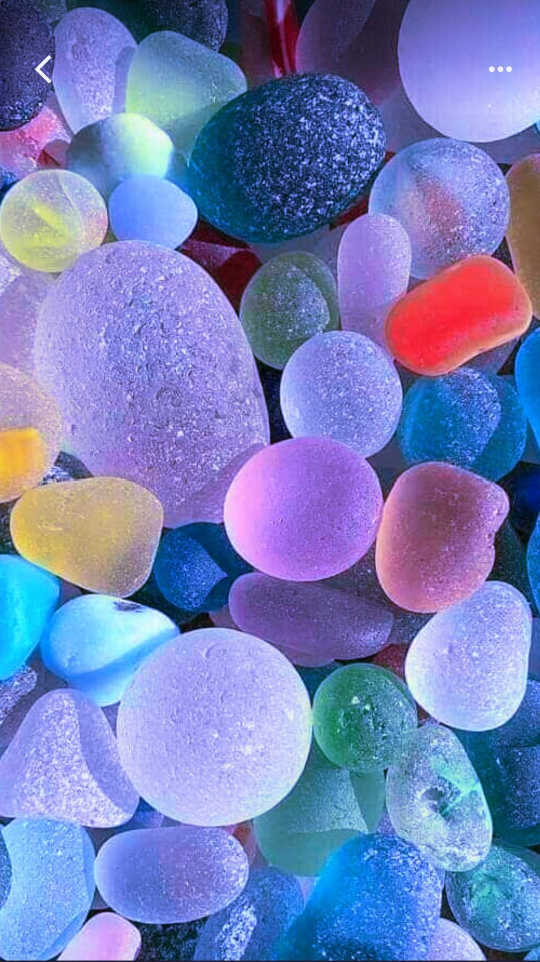 beach glass pebbles Colourful wallpaper iphone Stone wallpaper