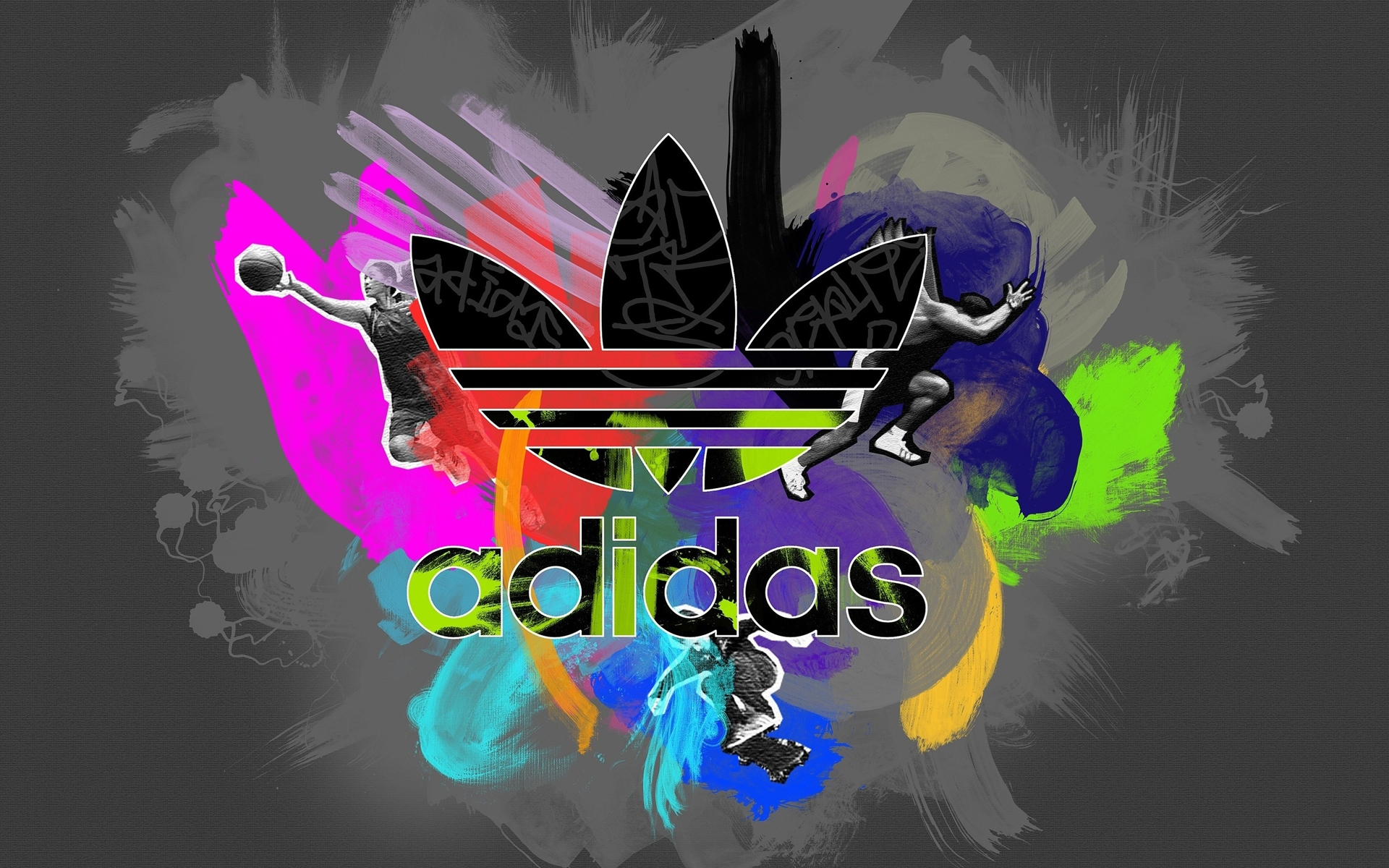 Colorful Adidas Logo wallpapers and images   wallpapers 1920x1200