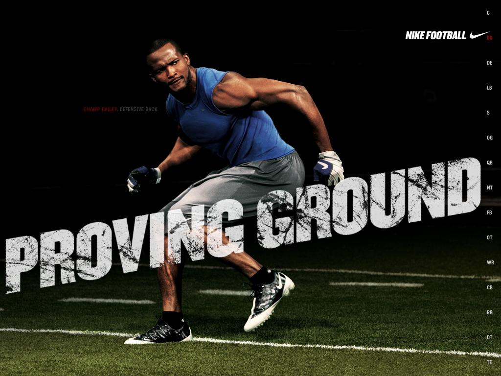 Ground Champ Bailey 1024x768 Nike American Football Wallpaper Hd 1024x768