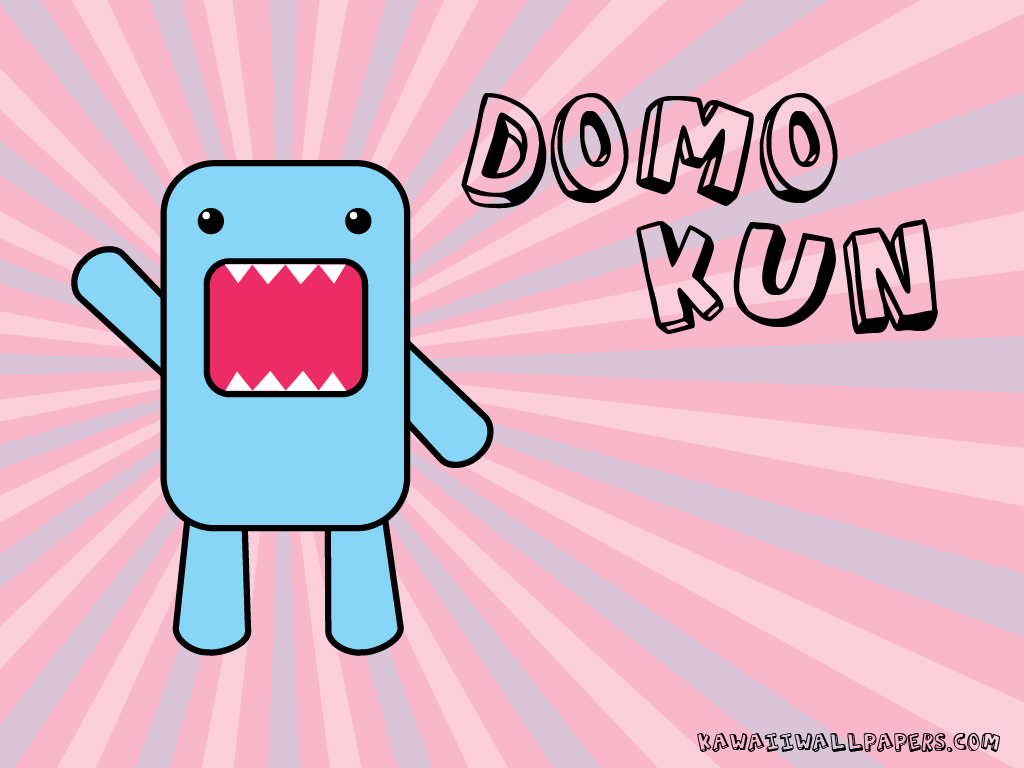 Cute Domo Wallpapers 1024x768