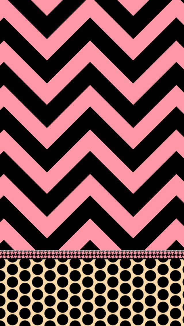 Pink And Black Iphone Wallpaper Pink and black iphone 640x1136