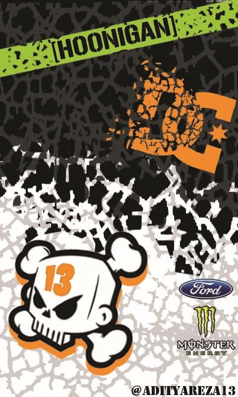 Ken Block Logo Wallpaper Ken block gymkhana 5 wallpaper 480x800