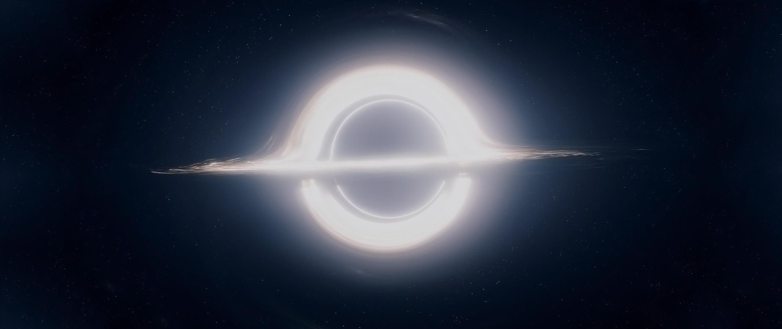 Interstellar Black Hole Wallpaper by ABAthedude 2560x1080