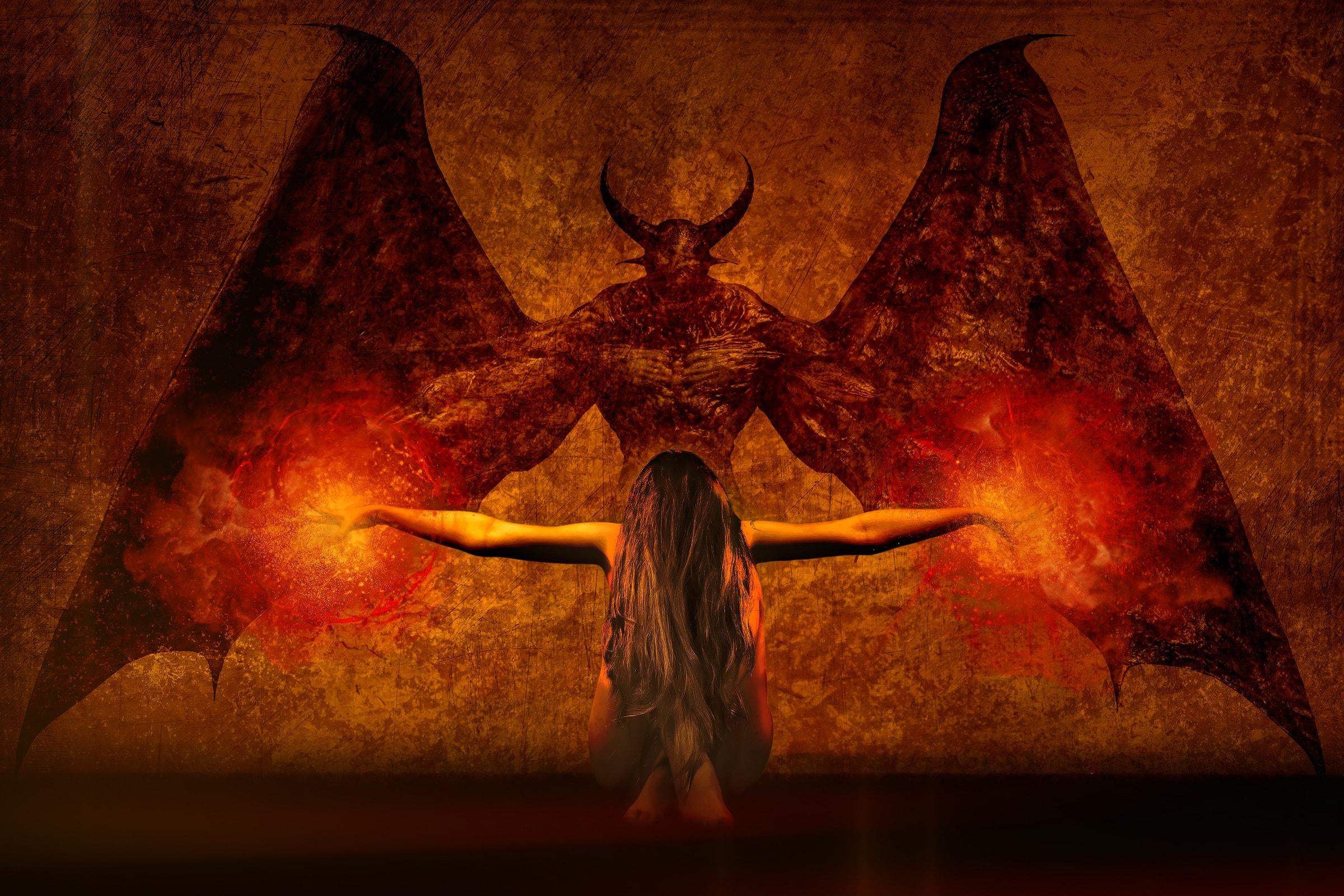 Dark Art Ritual Girl 2830 Wallpapers and Stock Photos 2400x1600