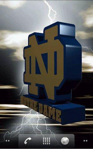 Notre Dame Fighting Irish Live Wallpaper   Amazon Mobile Analytics and 314x500