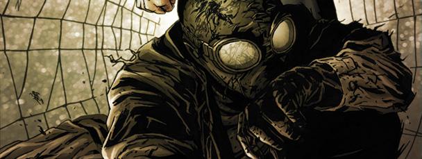 Noir Spiderman Wallpaper