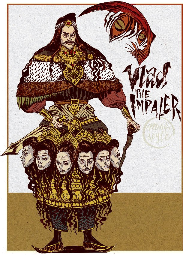 Vlad the Impaler by mysteryming 610x850