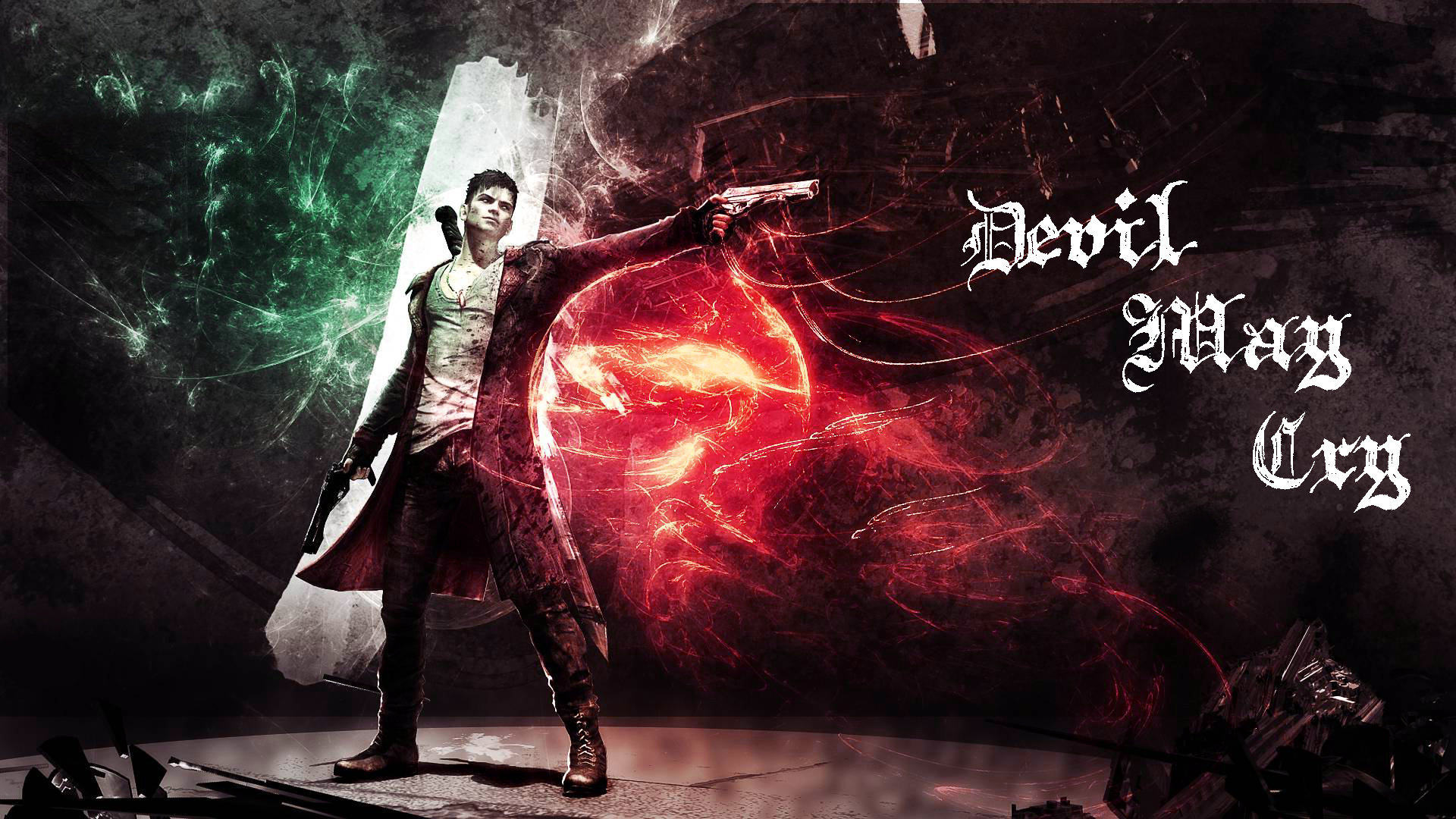 48 Dmc Devil May Cry Wallpaper On Wallpapersafari