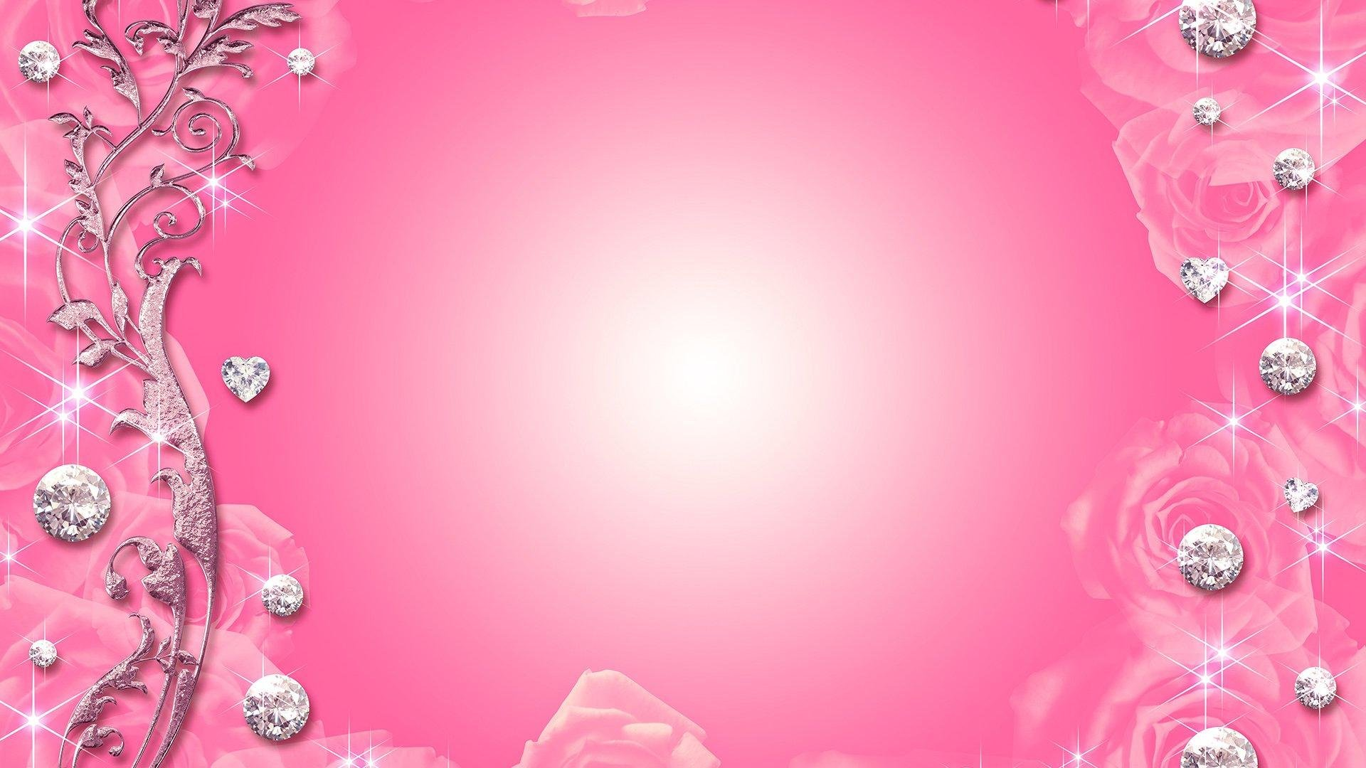 Pink Bling Wallpaper WallpaperSafari