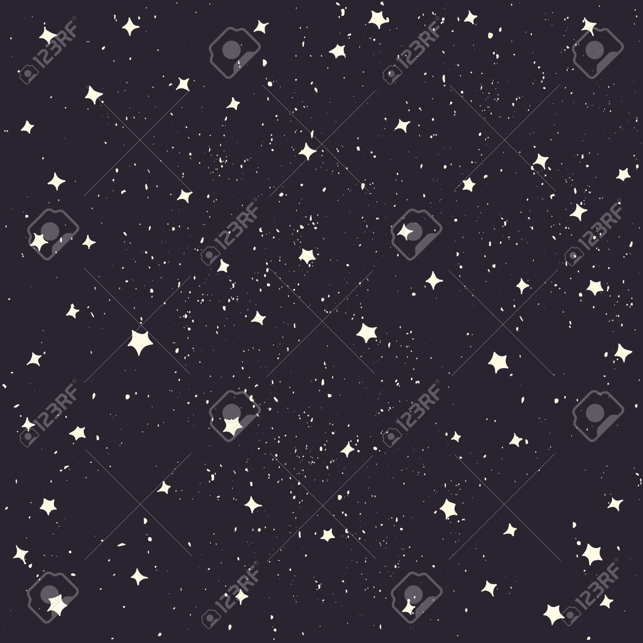Space With Stars Vector Cartoon Style Space Background Royalty 1300x1300