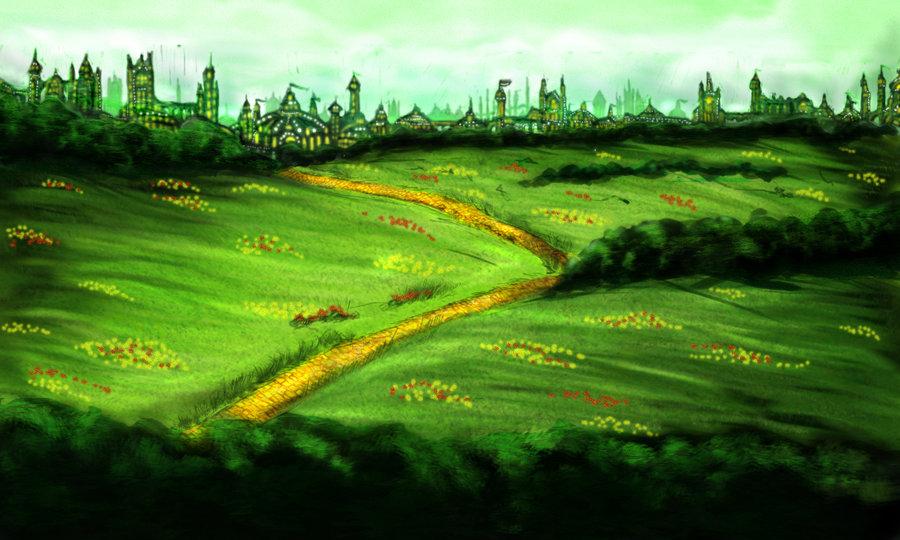 Wizard Of Oz Emerald City Background Emerald city wallpaper emerald 900x540