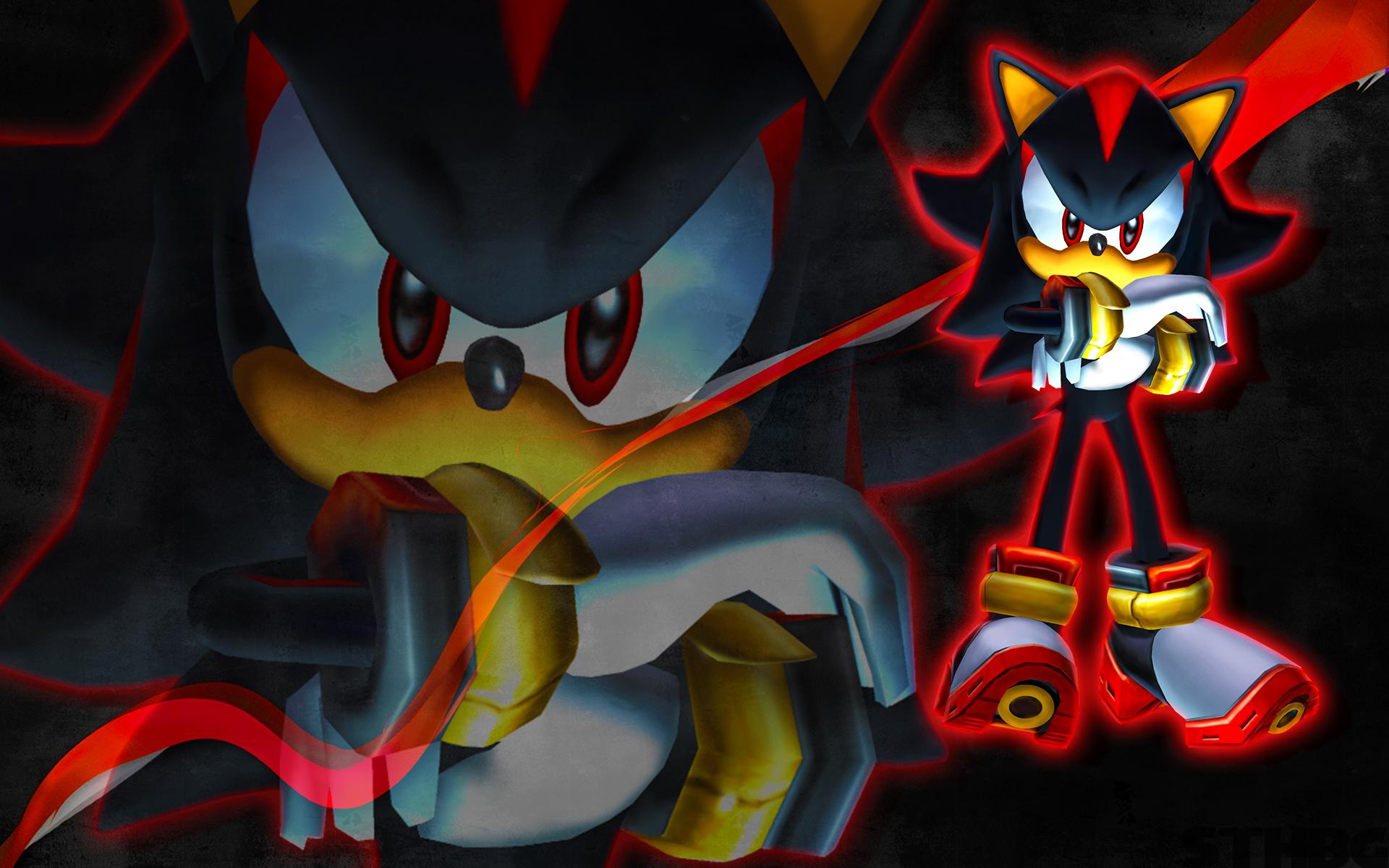 Sonic And Shadow Wallpaper Wallpapersafari