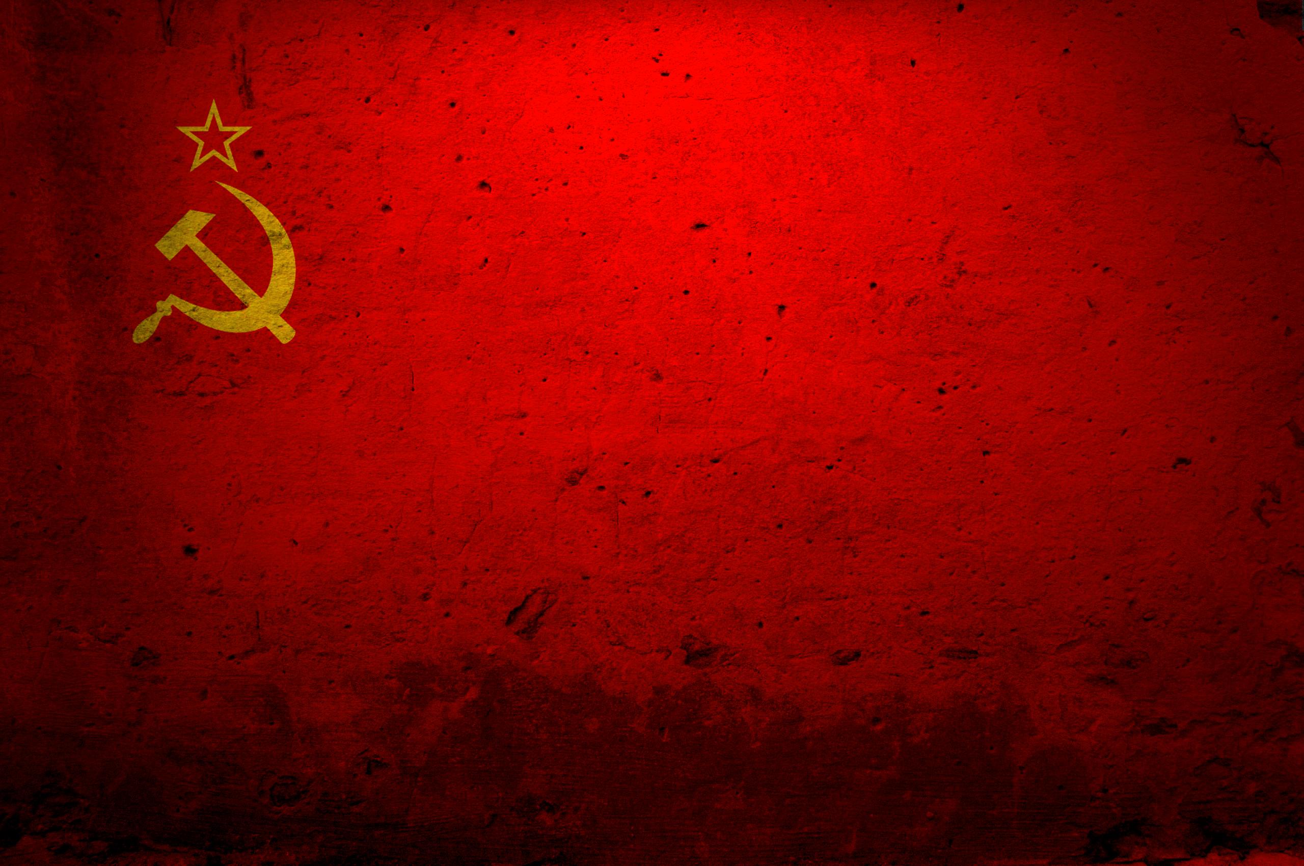 Flag Of United Soviet Socialist Republics HD Wallpaper 2560x1700