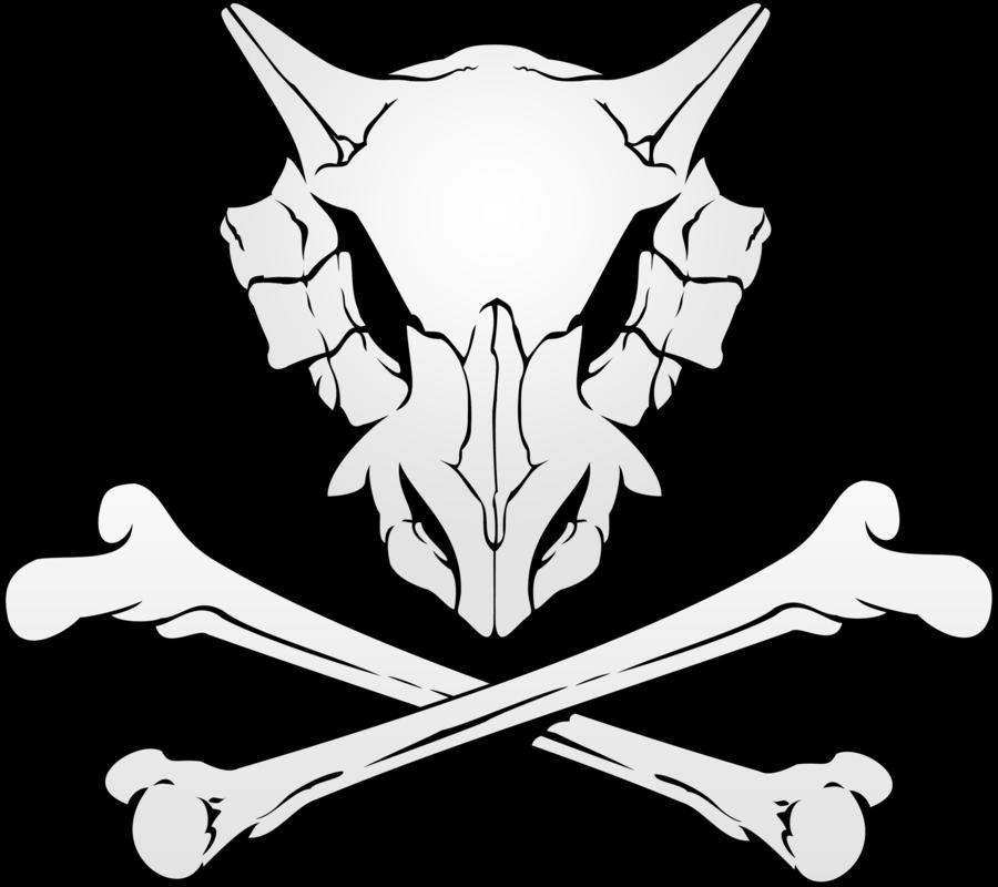 Cubone Skull by KileyDavis 900x800