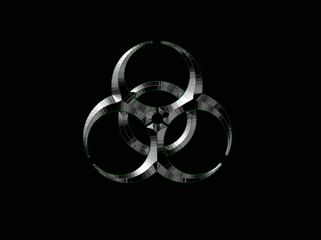 Toxic Symbol Black And White Toxic Symbol Wa...