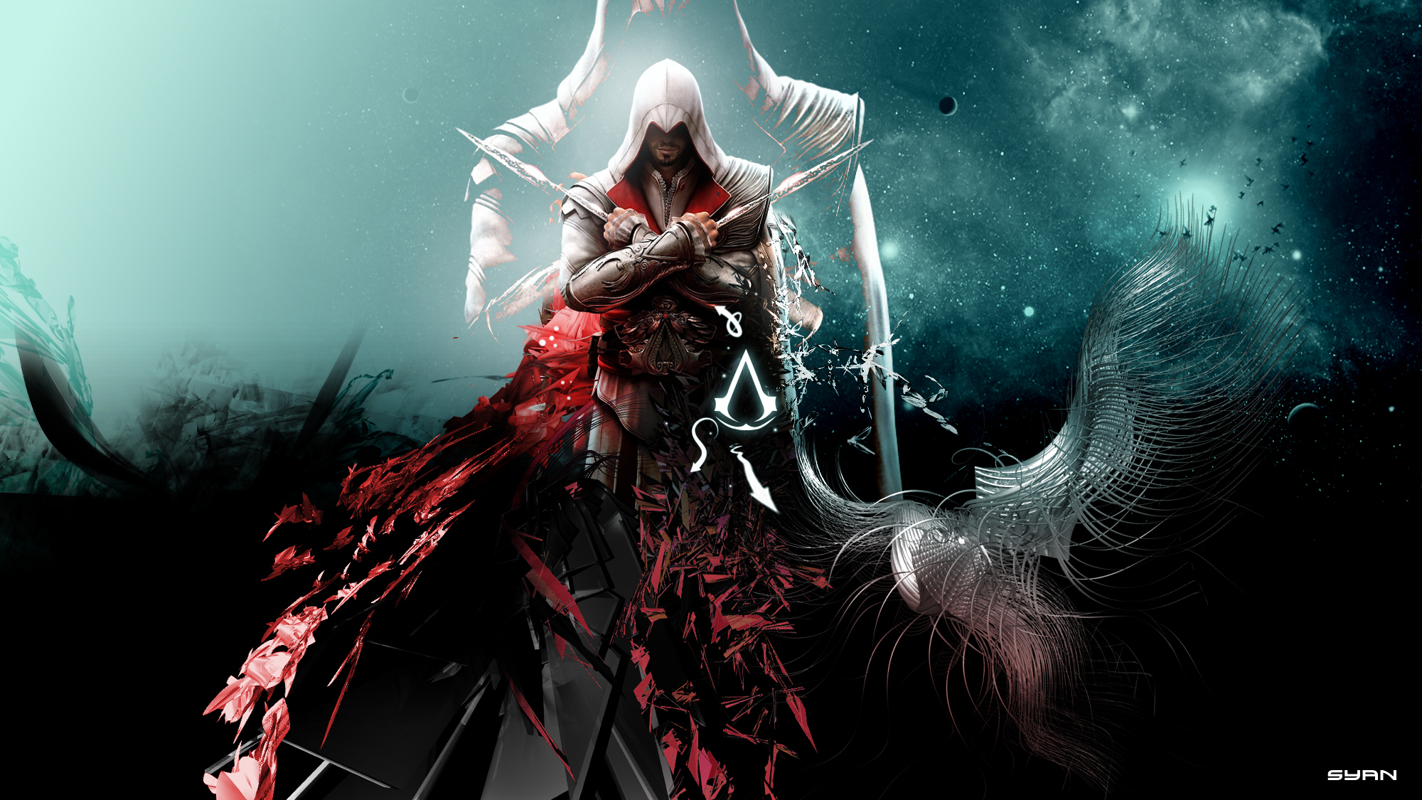 1204 Assassins Creed HD Wallpapers Background Images 2000x1125