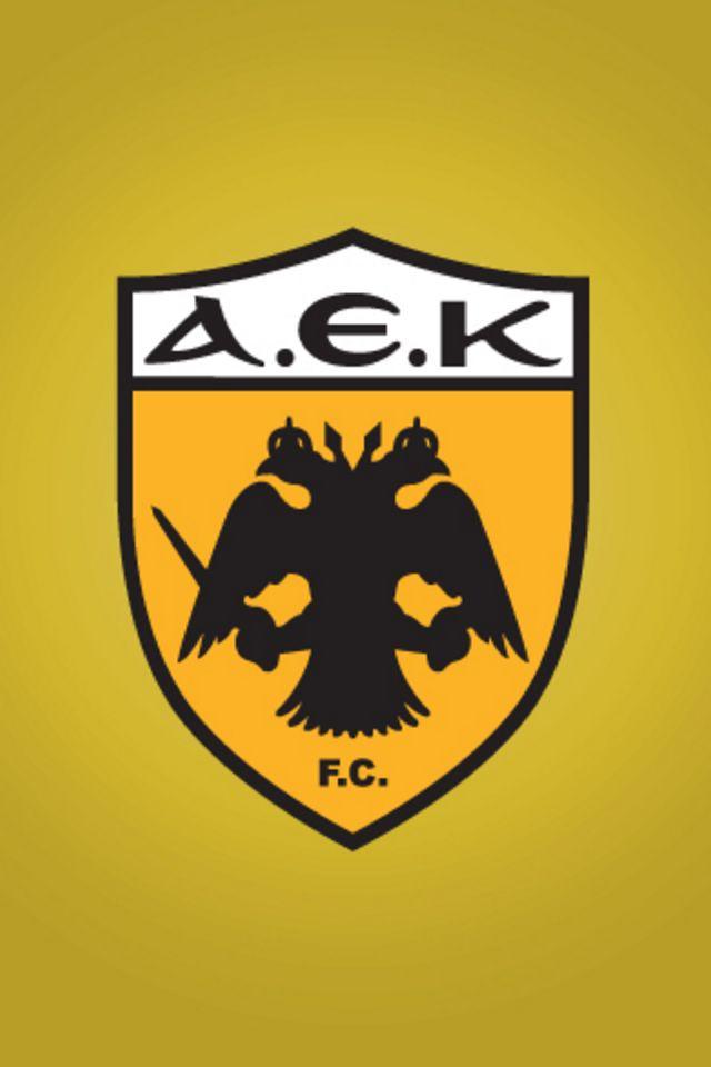 AEK Athens iPhone Wallpaper HD 640x960