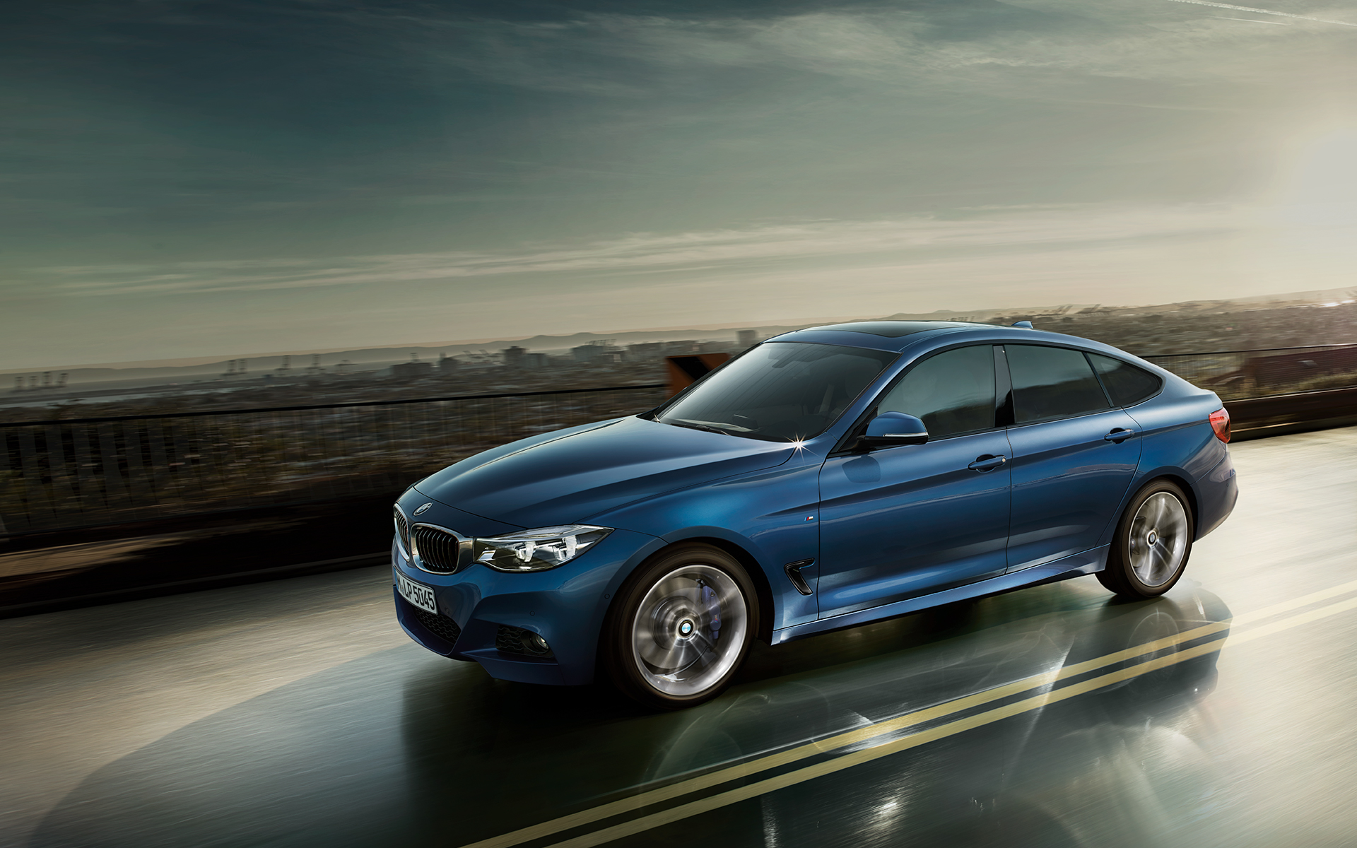 Wallpapers 2017 BMW 3 Series GT Facelift 1920x1200